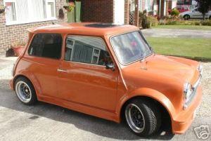 Turbo Kit Front Side Orange