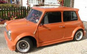 Turbo Kit Side Orange