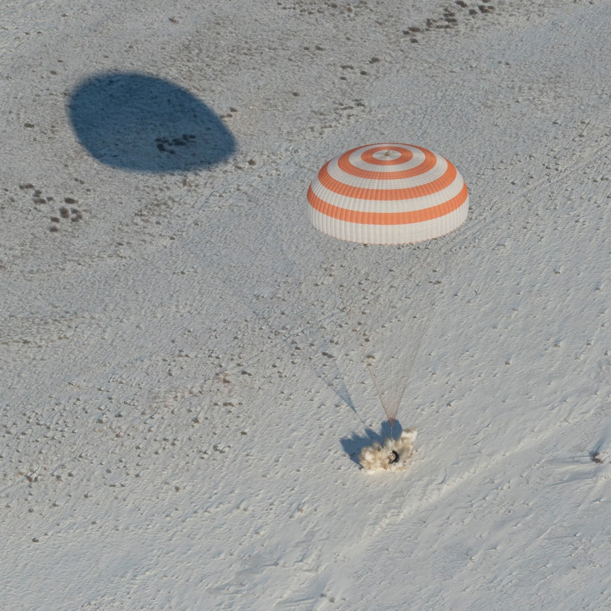 Astronaut Bresnik and Crewmates Return to Earth From ISS