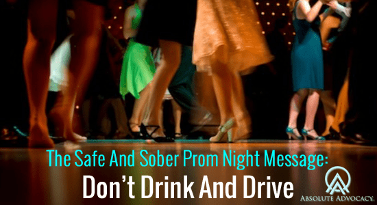 Prom Night Safety - Don't Drink and Drive