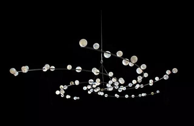 Jan Lambert Kruse: Milky way, 2007 Blown Glass