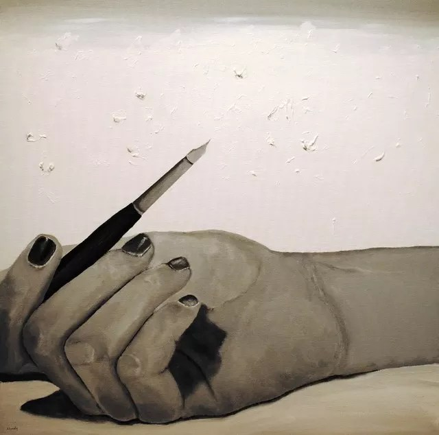 Image result for writer's block painting