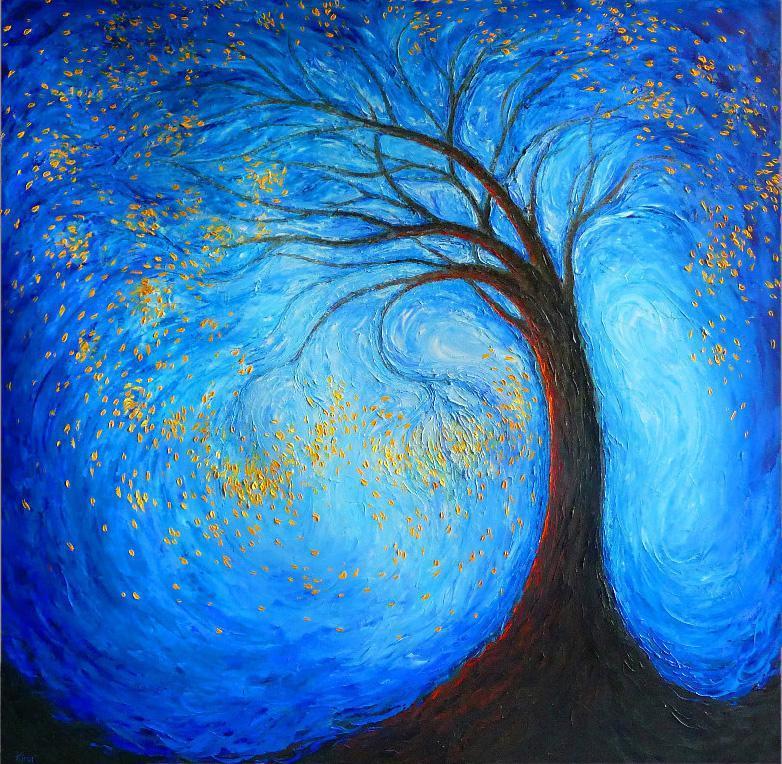 Lidia Kirov Artwork Tree Of Life Original Printmaking