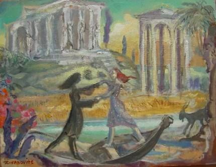 PERSEPHONE RETURNS Oil Painting By Dana Zivanovits | absolutearts.com