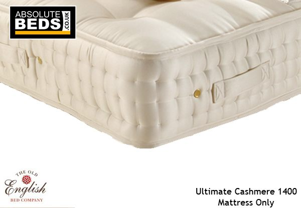Old English Bed Company Ultimate Cashmere 1400 Pocket Sprung Mattress