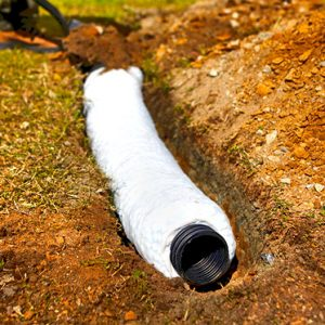 the french drain aka weeping tile