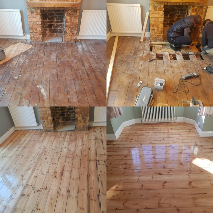 Floor Sanding Services in London