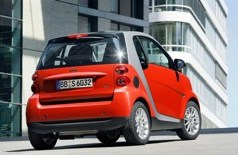 Smart fortwo cdi diesel car