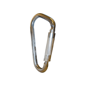 Stainless Steel Fireman's Karabiner Double Action