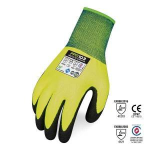 Safety Gloves CoolFlex AGT Ultra Hi Vis