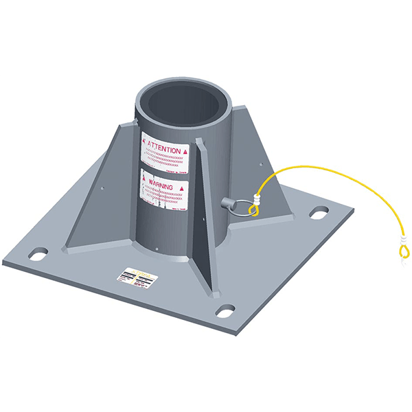 Centre Mounted Floor Adapter
