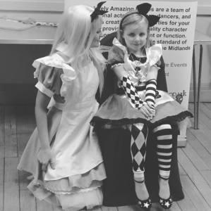 Alice in Wonderland Impersonator Nottingham