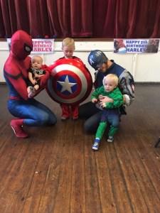 Spider Man | Captain America | Party Entertainment