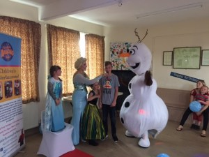 Queen Elsa and Olaf Hire | Leicester