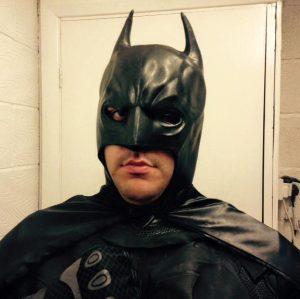 Batman Mascot Nottingham