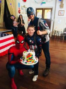 Spider Man | Captain America | Tamworth
