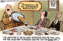 The Big Gov't Pie
