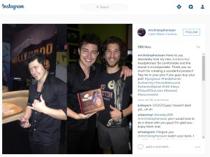 christopher sean IG