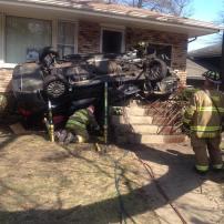 Vehicle Against a House-partech-struts (5)