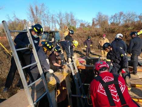 Hunterdon County Emergency Services Training Center Trench Training (5)
