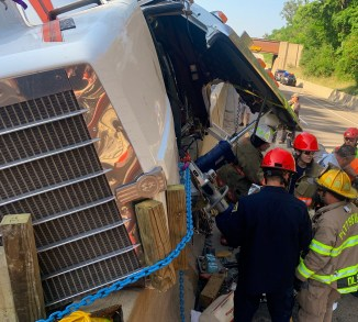 Large Vehicle with Heavy Paratech Hurst WCTRT Entrapment (1)