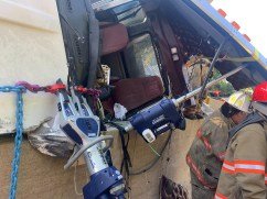 Large Vehicle with Heavy Paratech Hurst WCTRT Entrapment (6)