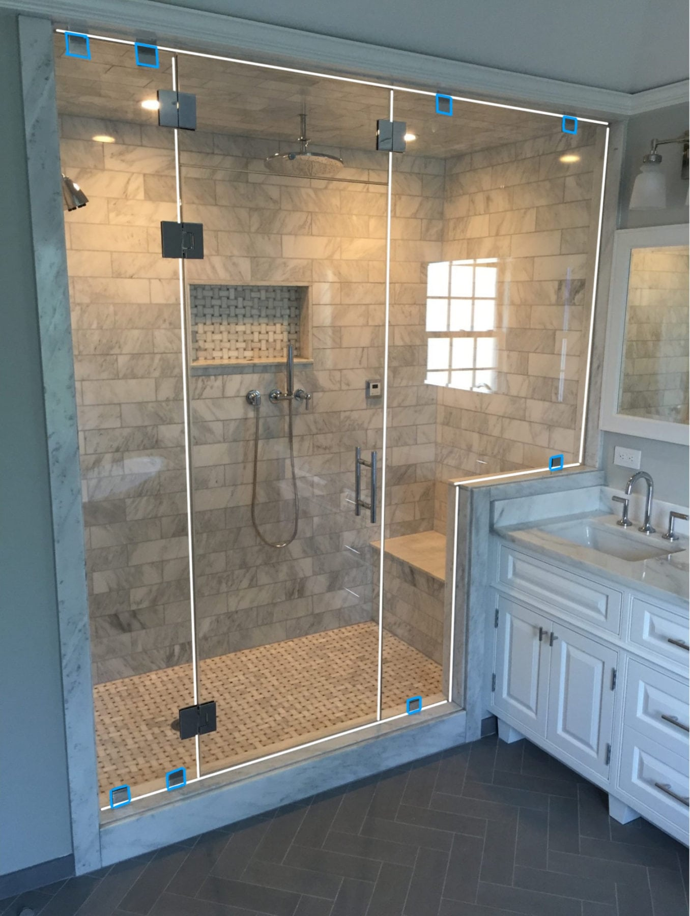 Clips vs  Channels or Both? - Absolute Shower Doors