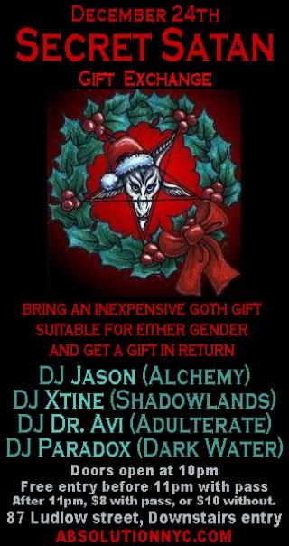 Absolution / Secret Satan on December 24th