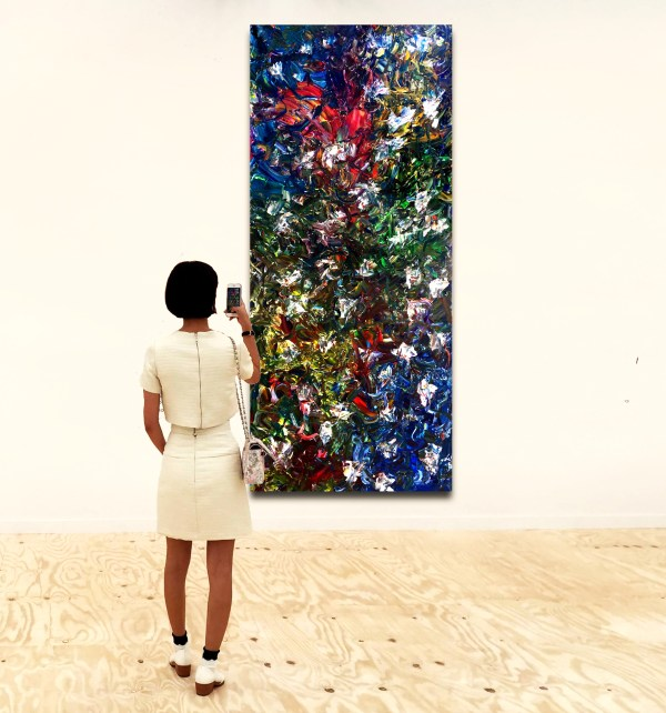 Undefined Gesture - Abstract Expressionism by Estelle Asmodelle