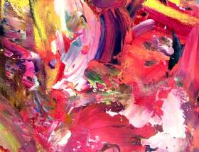 Abstract Expressionism by Asmodelle