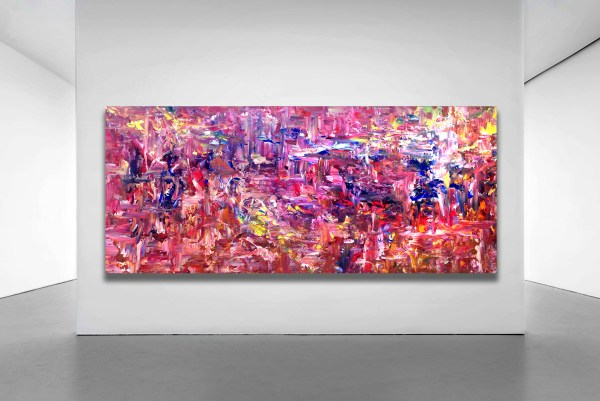 City Dreaming - Abstract Expressionism