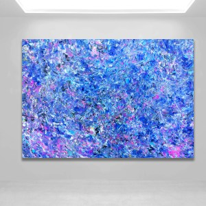 Number 71 - Abstract Expressionism by Estelle Asmodelle