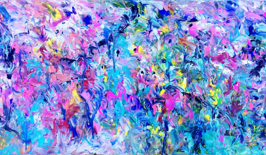Liquescent Psychedelia by Estelle Asmodelle