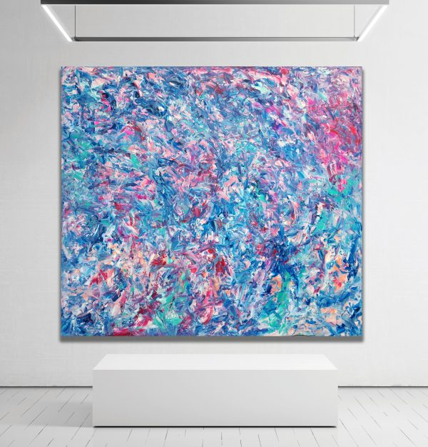 Number 72 - Abstract Expressionism by Estelle Asmodelle