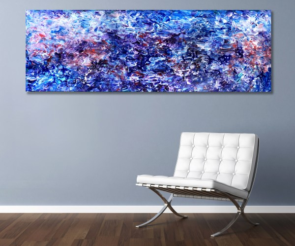 Ancient Panorama - Abstract Expressionism by Estelle Asmodelle