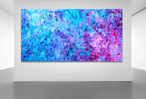 Coloured Apophenia - Abstract Expressionism by Estelle Asmodelle