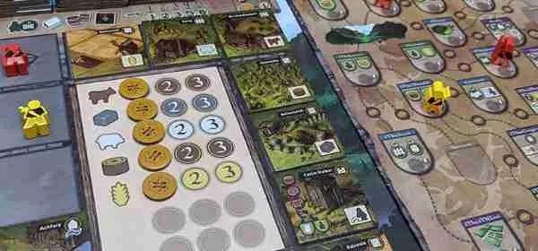 Glenn Moore II: Chronicles board game. One of Will's top five.