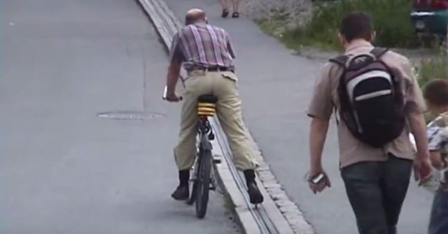 ascensore bici