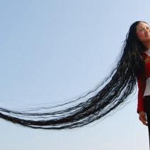 i capelli più lunghi del mondo - xie quiping