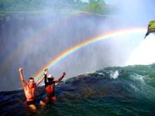 Devil pool - La piscina del diavolo alle cascate vittoria Zimbabwe2