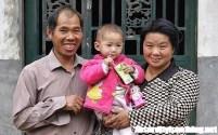 Kang Mengru - Incinta ad un anno