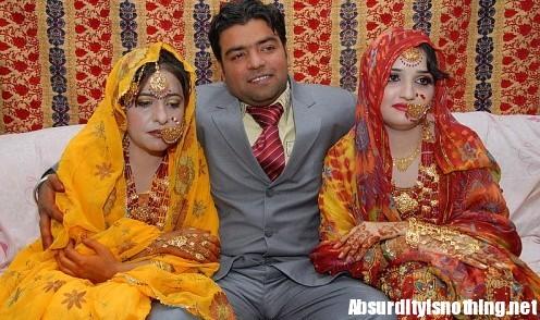 Pakistano sposo 2 volte in 24 ore