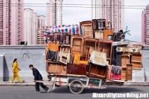 Le biciclette in Cina? Cariche come camion