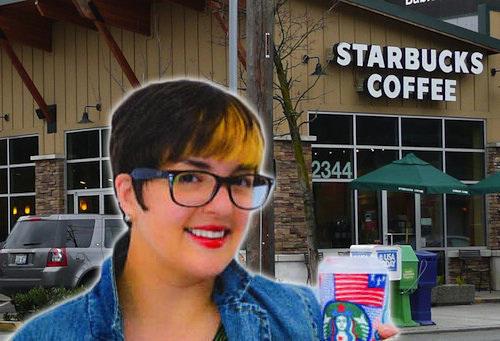 Donna decide di mangiare e bere solo prodotti Starbucks (1)