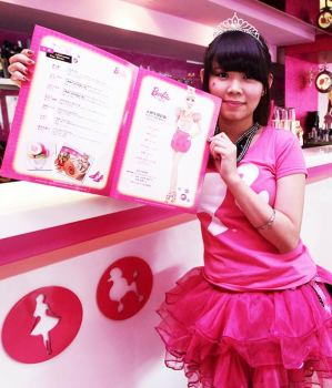 Apre in Taiwan il primo Barbie Cafe