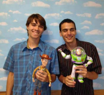 Remake di Toy Story con giocattoli veri