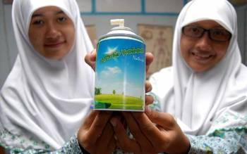 Deodorante per ambienti fatto con letame