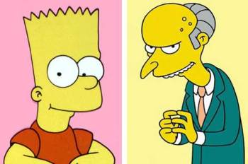 Bart Simpson appare davanti al giudice chiamato Mr Burns (1)