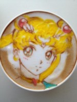 Disegna anime giapponesi nei cappuccini (1)