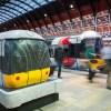 Torta a forma di treno per l'anniversario dell'Heathrow Express (2)